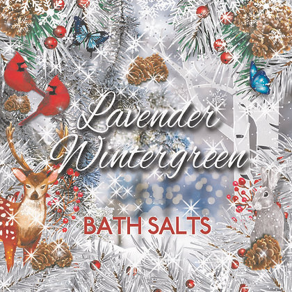 Lavender Wintergreen Bath Salts