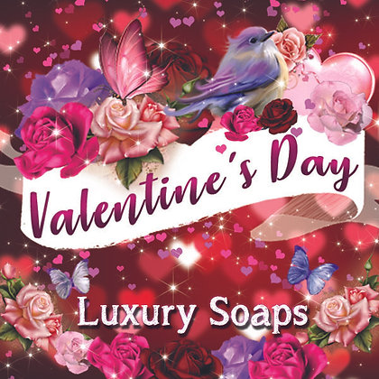 Valentine's Day Luxury Soaps