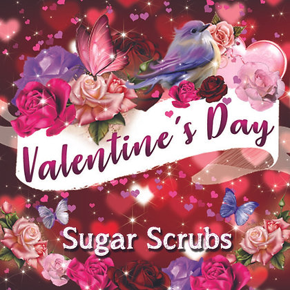 Valentine's Day Sugar Scrubs
