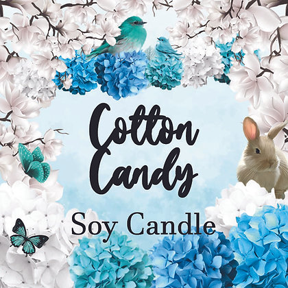 Cotton Candy Small Jar Candle