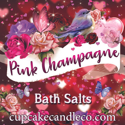 Pink Champagne Bath Salts