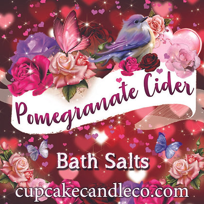 Pomegranate Cider Bath Salts