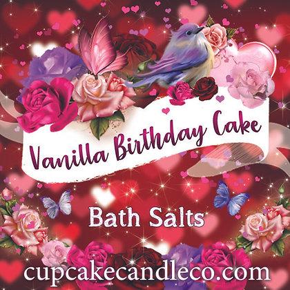 Vanilla Birthday Cake Bath Salts