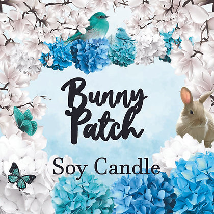 Bunny Patch Cupcake Drink Candle