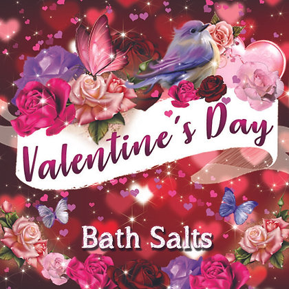 Valentine's Day Bath Salts
