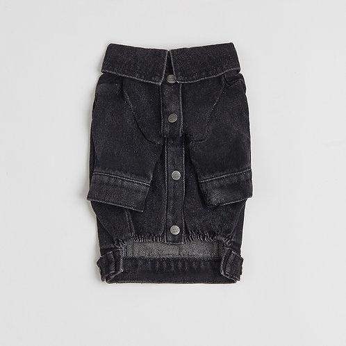 ג'קט ג'ינס שחור
