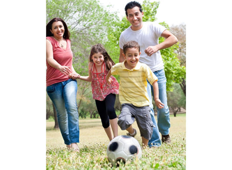 Exercise With Your Kids Week