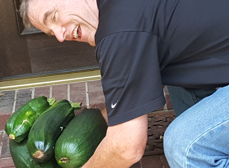Sneak Some Zucchini onto Your Neighbor's Porch Day!