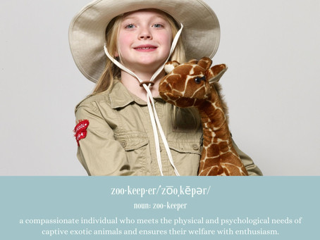 National Zoo Keeper Week