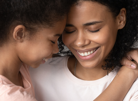 """""""Mom Hugs"""", Science, and the Top Five Benefits of Hugs!"""