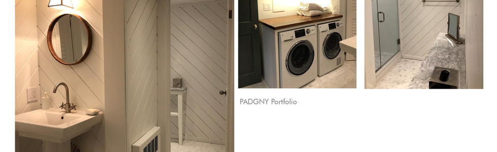 Laundry and Bath Renovation