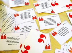 Teacher quote cards