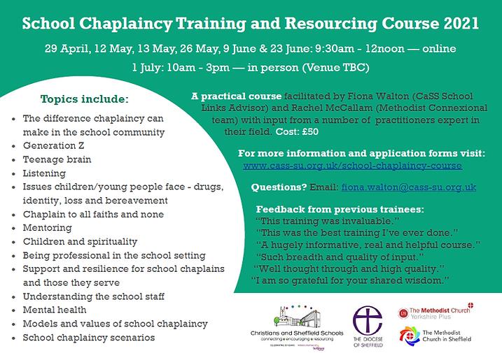 School Chaplaincy Course 2021 flier v4.p