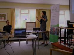 Fiona teaching
