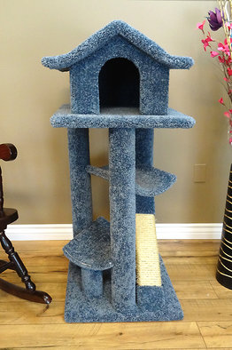 Pagoda Cat Tree with Hammocks