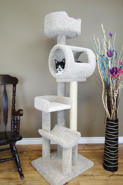 Cats Are Inn Deluxe Cat Tower
