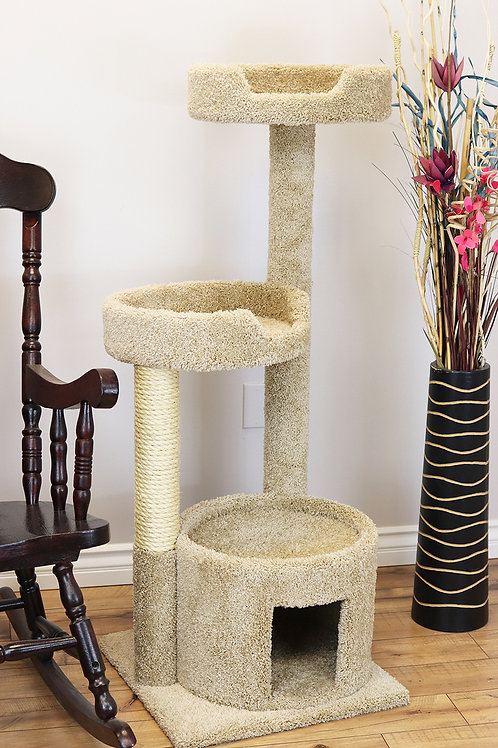 Cats Are Inn Solid Wood Cat House