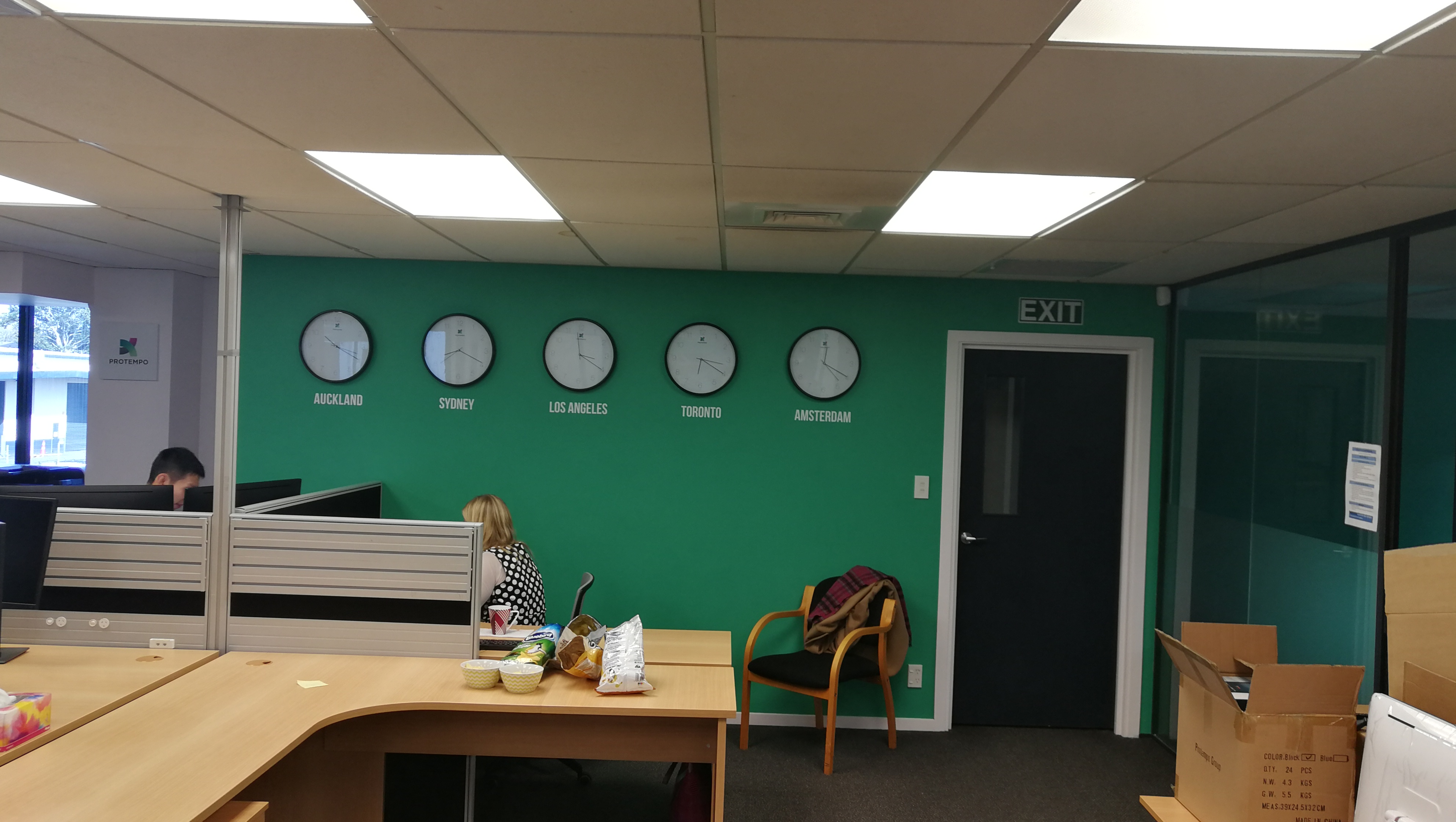 Onform Signs Protempo Clocks