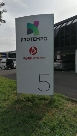 Onform Signs Protempo Blup