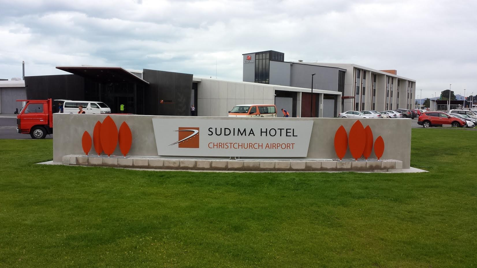 Sudima Hotel Signage Rebrand Onform