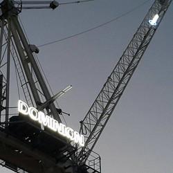 crane signage