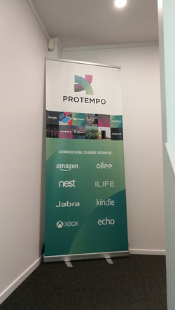 Onform Signs Protempo Pullup banner