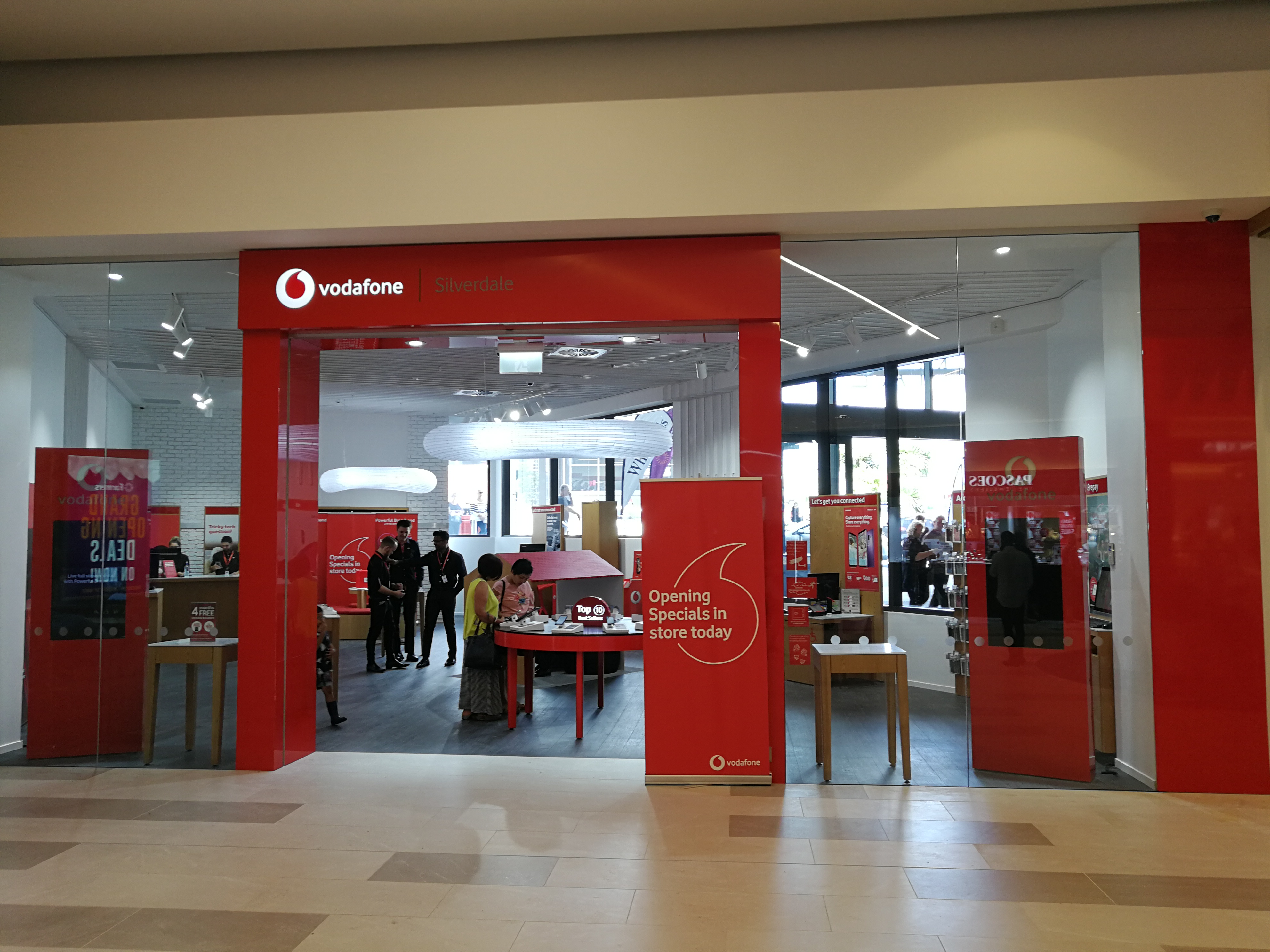 Onform Signs Vodafone Silverdale 1