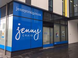 Onform Signs Jenny Craig Window Graphics