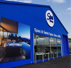 Spa and swim spas signage