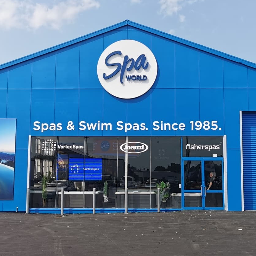 Spa and swim spas signage
