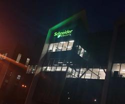 Schneider Electric illuminated signa