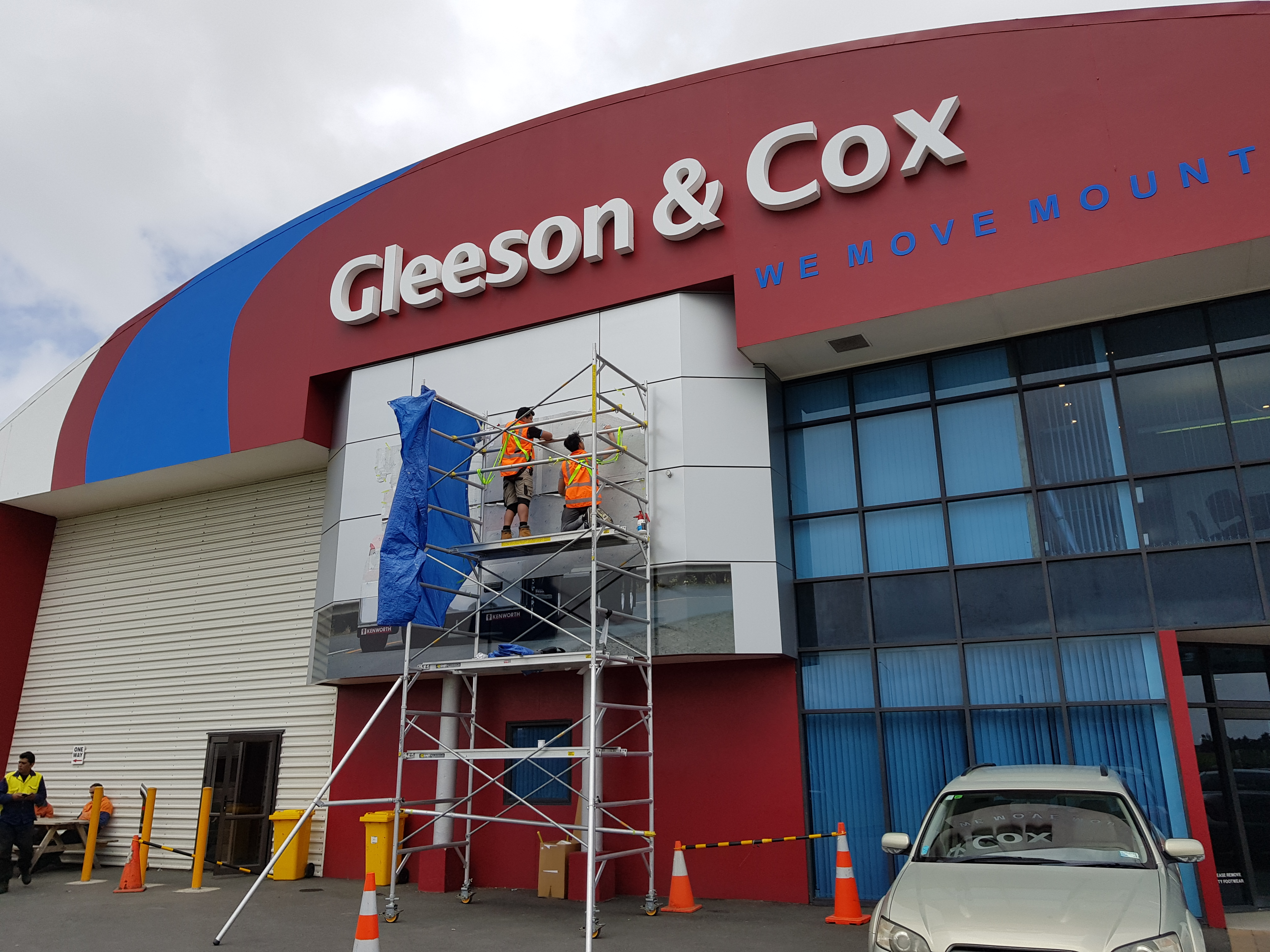 Onform Signs Gleeson & Cox Building Signage 3