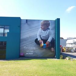 Tile Depot billboard signage