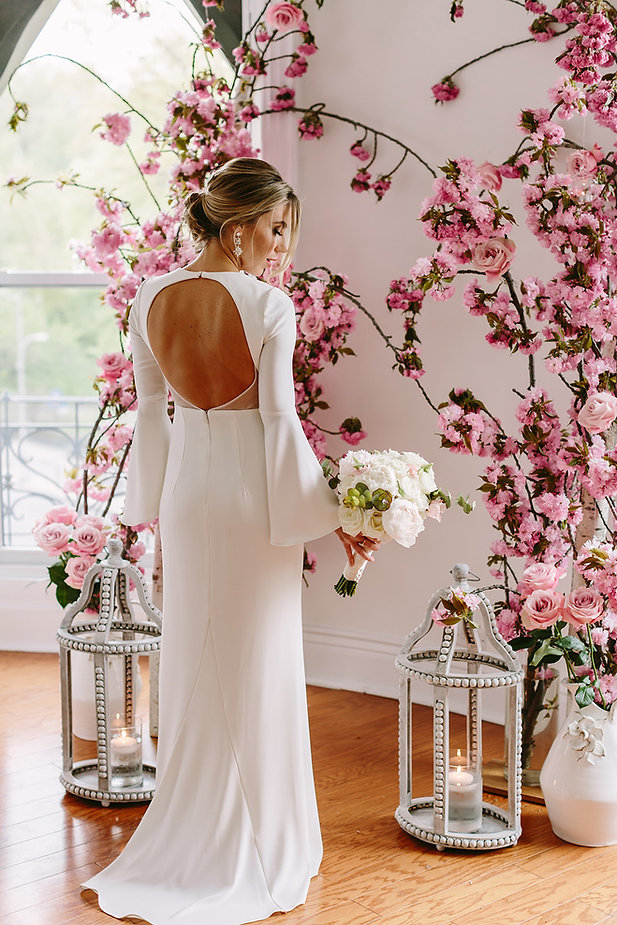 Simple and sultry affordable brooklyn bridal hair and makeup wedding beauty sunless tans spray tanning