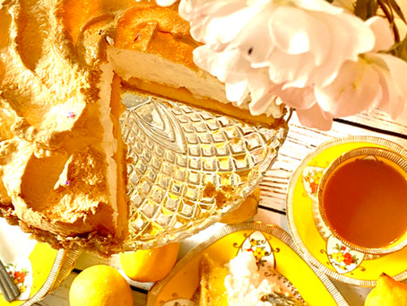 Italian lemon meringue tart