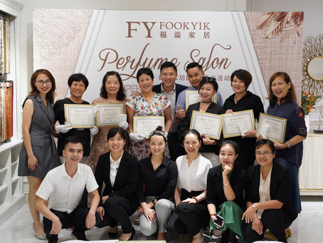 北京、重慶、杭州、廣州舉辦香水調香工作坊