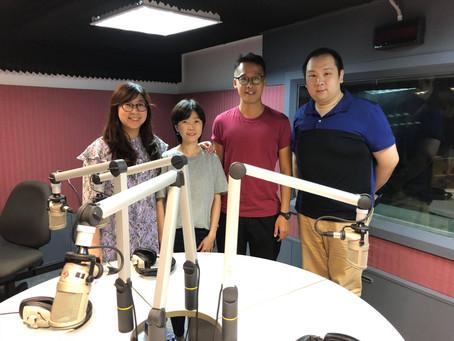 本校澳門畢業學員接受《澳門電台》訪問