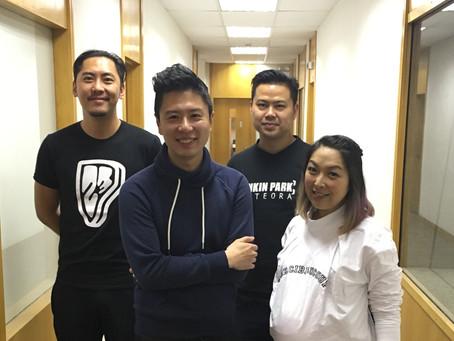 商業電台叱咤903「好出奇」節目專訪