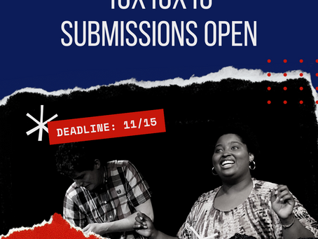 Calling All Playwrights for FPCT 10x10x10 Play Festival