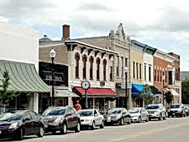Downtown Sturgeon Bay, WI