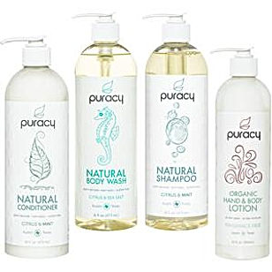 Puracy all natural toiletries