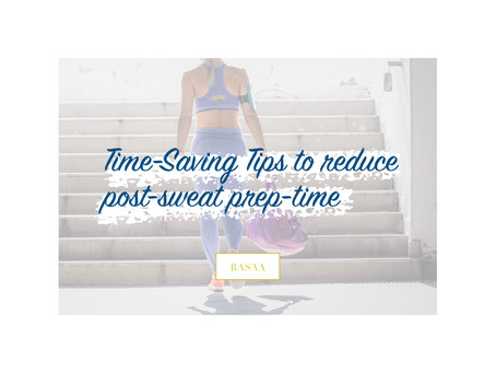 Getting Ready After a Workout - Simplified!