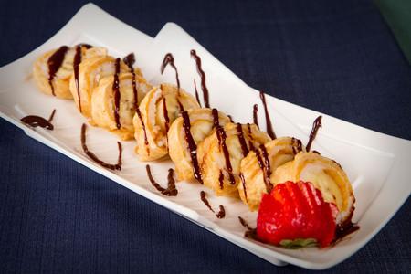 Fried Banana Roll Wasabi Sushi PDX