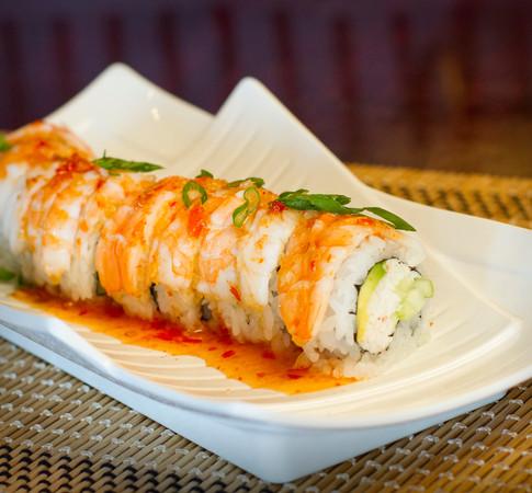 Wasabi Sushi PDX - Sushi Roll - Shrimp Delight