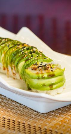 Wasabi Sushi PDX - Sushi Roll - Caterpillar