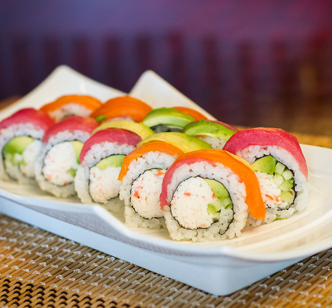 Wasabi Sushi PDX - Sushi Roll - Rainbow