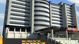 County General Hospital: Exterior Emergency/Urgent Care Entrance
