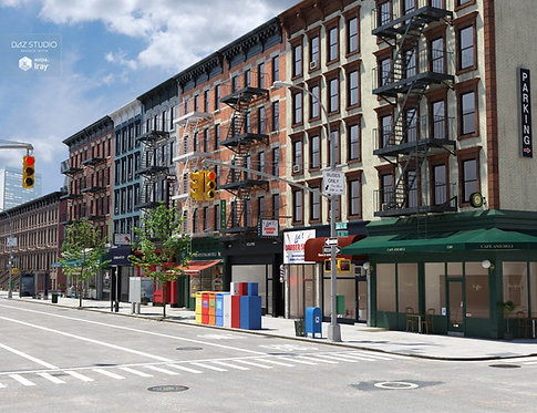 Big City Block: Stores