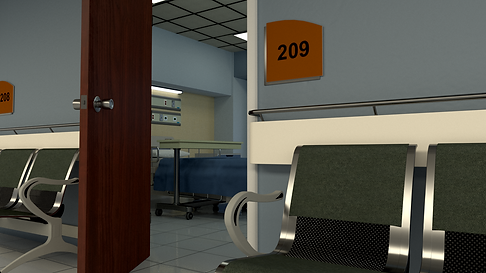 County General Hospital: Private Room