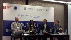 """EmNEW at """"Nordic Solutions to Global Challenges"""""""